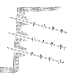 CHANCE Soil Screw Anchors: Quickly Anchor Engineered Walls