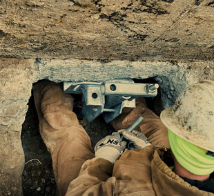 CHANCE® Helical Underpinning