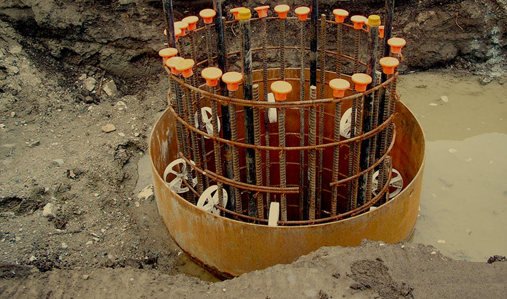 Drilled Shaft Rebar Centralizers